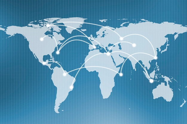 Abstract global network connection