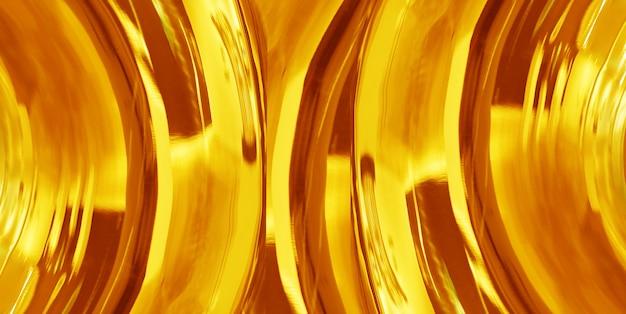 テクスチャードと抽象的な金の背景