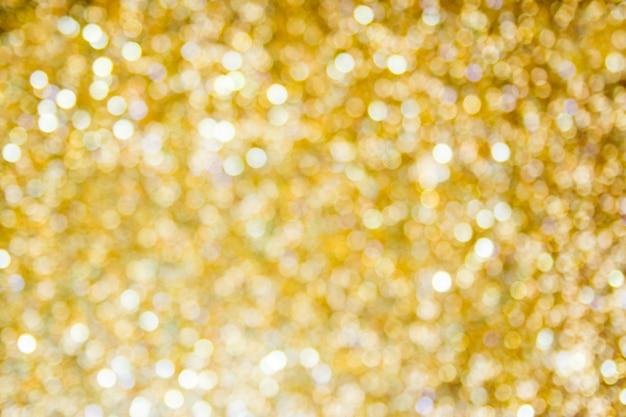 Абстрактный золотой боке фон