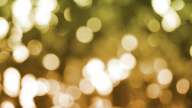 Abstract gold bokeh, christmas and new year theme