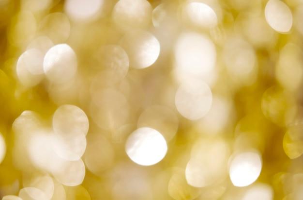 Абстрактный золотой боке светлый фон