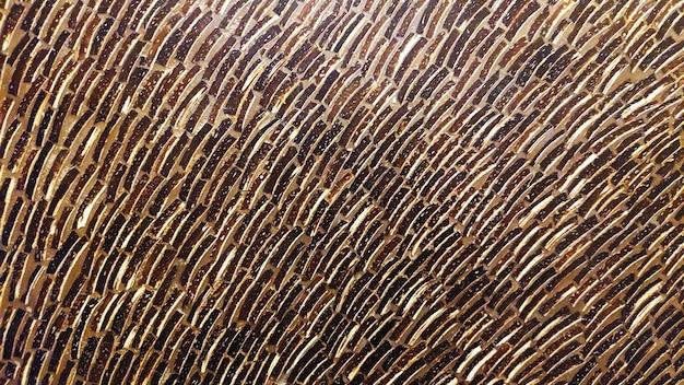 Абстрактная текстура золотой кривой