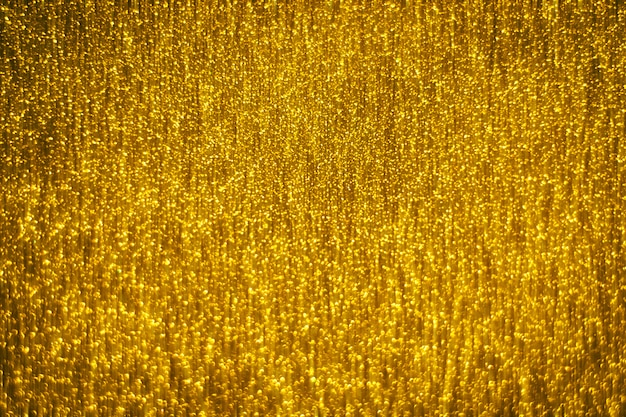 Abstract gold glister defocused background