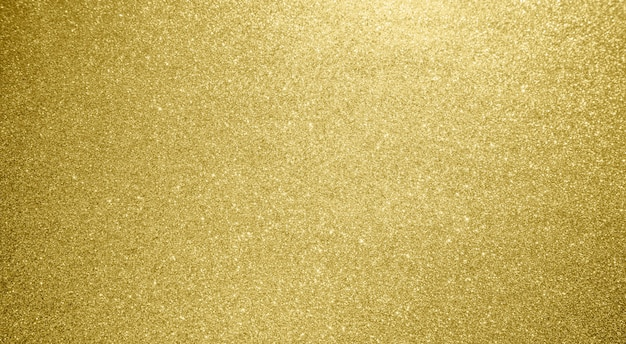 抽象的なゴールドラメ輝きボケ光の背景