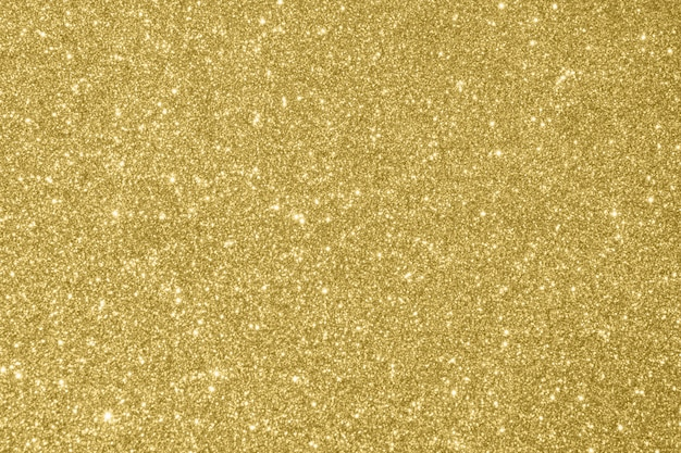 Abstract gold glitter sparkle