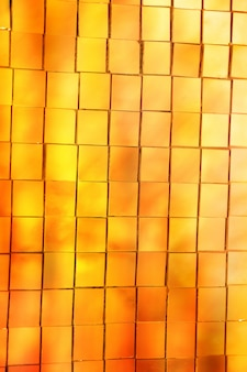 Abstract gold stained glass mosaic