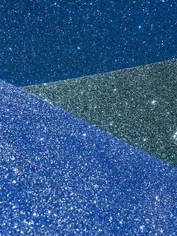 Абстрактная золотая текстура в градиентных оттенках синего света