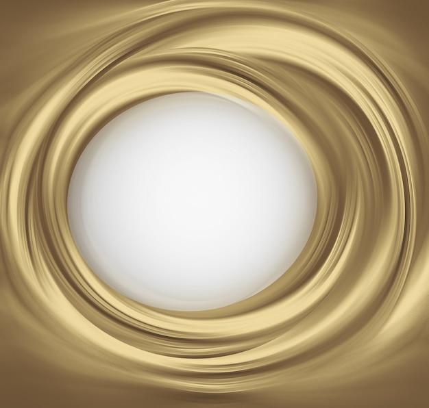 あなたのテキストのための場所と抽象的な金色の背景