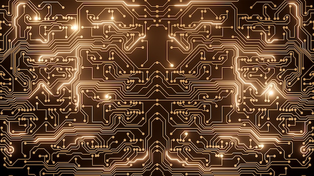 Abstract golden circuit