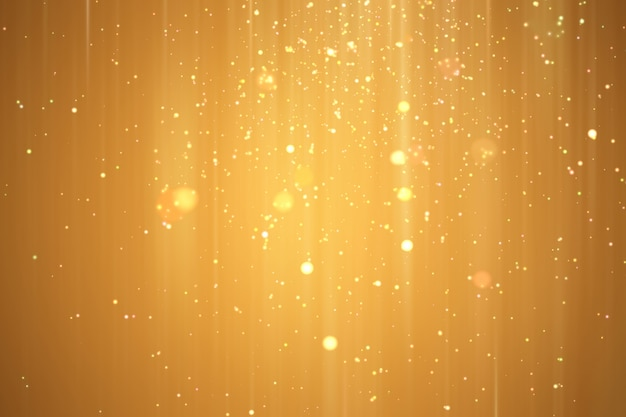 Abstract golden xmas festive background.