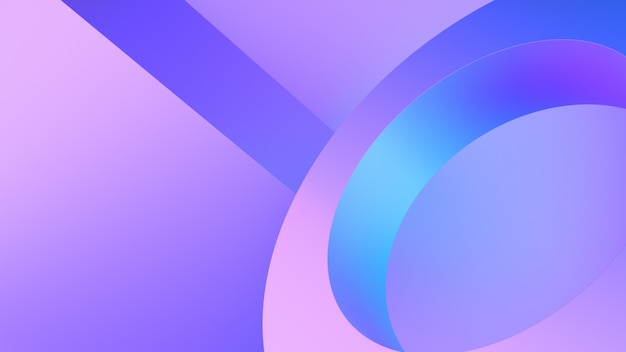 Abstract gradient blue and pink background