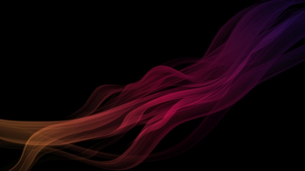 Abstract gradient line dark background