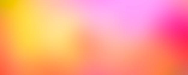 抽象的なグラデーションピンクとオレンジのテンプレートの背景