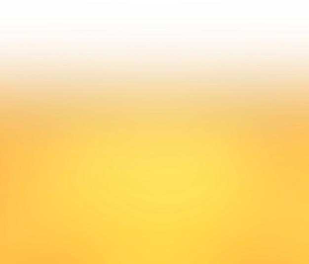 抽象的なグラデーションの黄色と白の色の背景