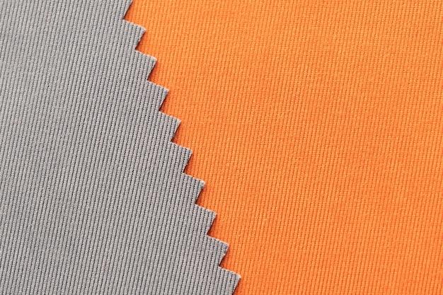 Абстрактный серый и оранжевый полосатый фон