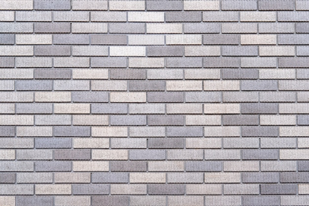 Abstract gray brick wall texture background.