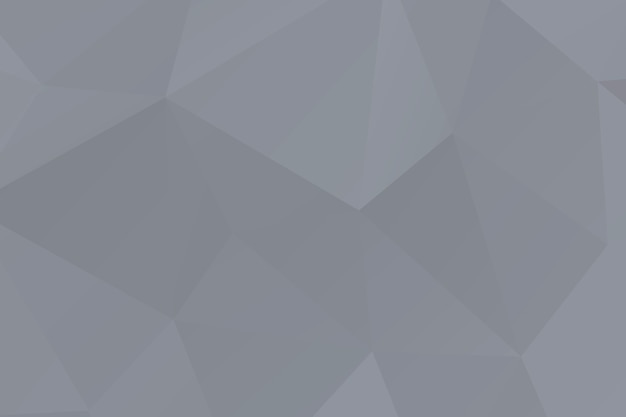 Abstract gray mosaic polygon surfaced background