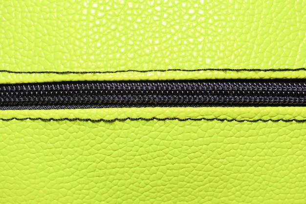 Абстрактный зеленый фон, кожаный кошелек