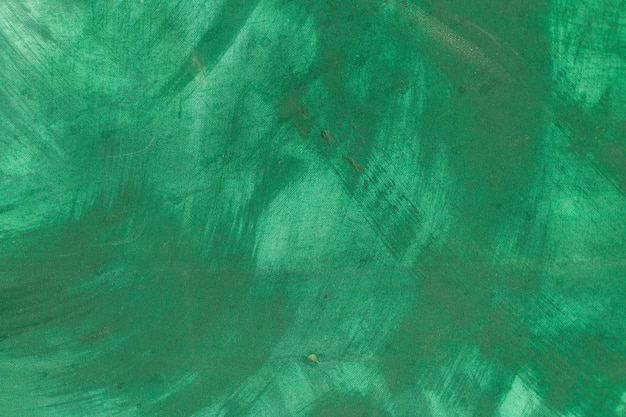 抽象的な緑色塗装の背景