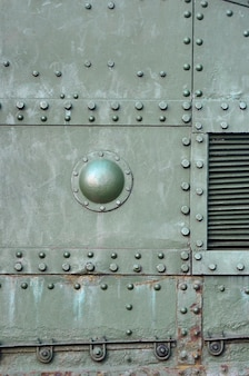Abstract green industrial metal textured