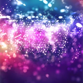 抽象的な美しいピンクと紫のライトのテクスチャ