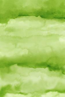 抽象的な緑の水彩背景紙