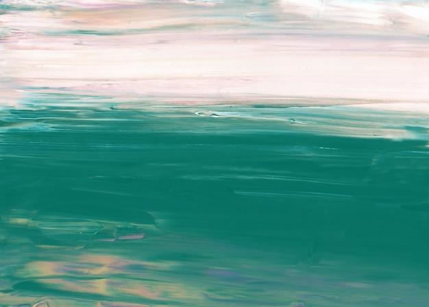Абстрактный зеленый, белый и бежевый фон