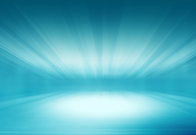 Abstract ground with light rays effect background