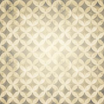 抽象的なグランジベージュの重なり合う円パターンの背景。水彩の手描きのテクスチャ。水彩の幾何学的な球形の要素。テキスト用のスペースあり。