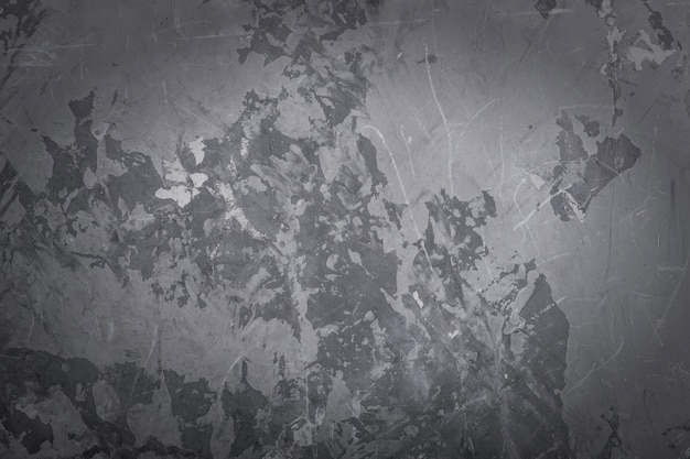 Abstract grunge gray wall texture background, vignette.