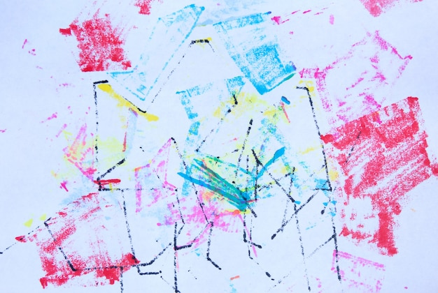 Abstract grunge marker texture stock illustration