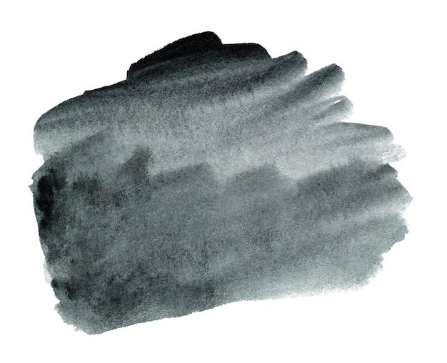 テキストまたはロゴの抽象的な手描きの黒い水彩背景