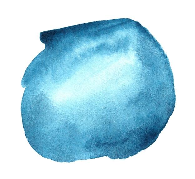 テキストまたはロゴの抽象的な手描き水彩背景。水彩デザイン要素