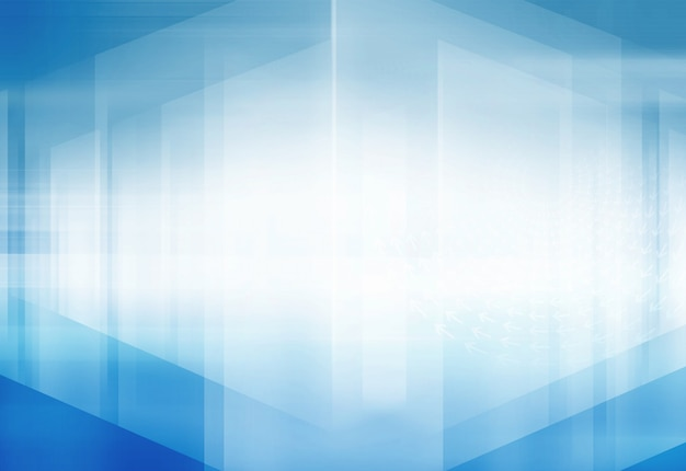 Abstract high tech 3d space background