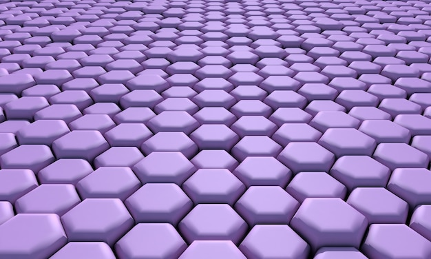 Abstract honeycomb background . 3d illustration.