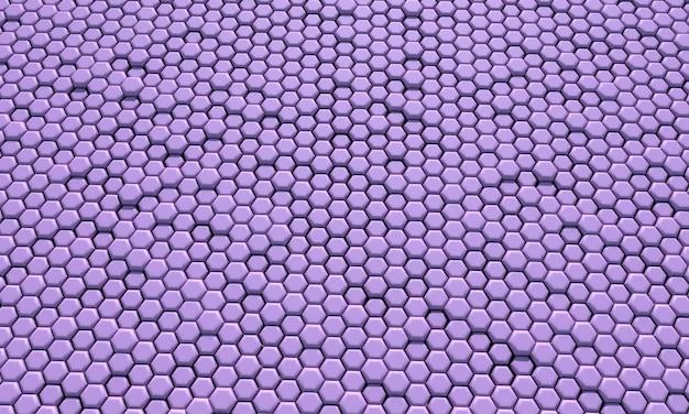 Абстрактный фон соты. 3d иллюстрации.