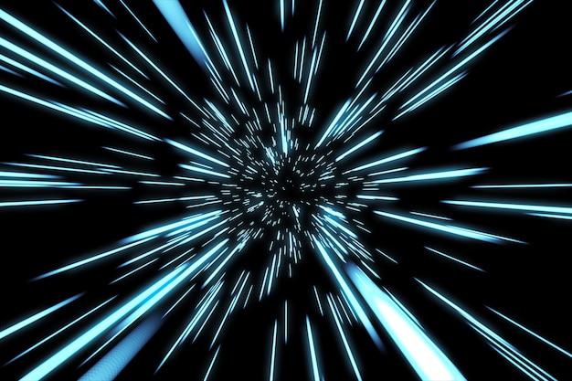 Абстрактный гипер-прыжок в пространстве