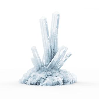 Абстрактные кристаллы льда