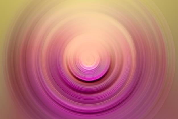 抽象的な画像。中心点の周りの同心円。フラッシュライト。デザイナーの背景。