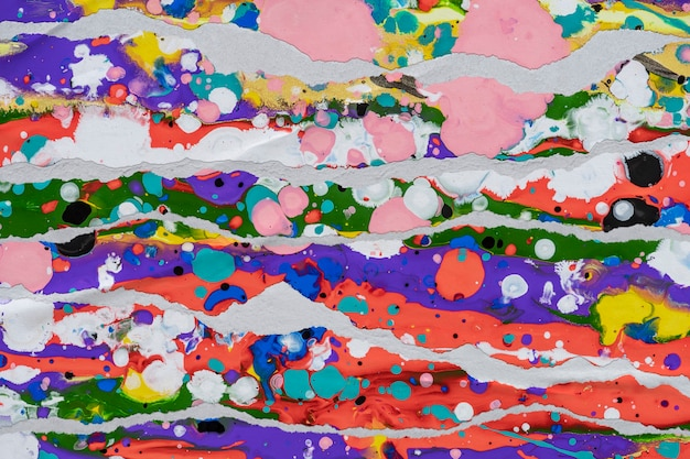 破れた紙のスタイルの抽象的なイメージ