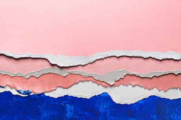 Абстрактное изображение в стиле рваной бумаги