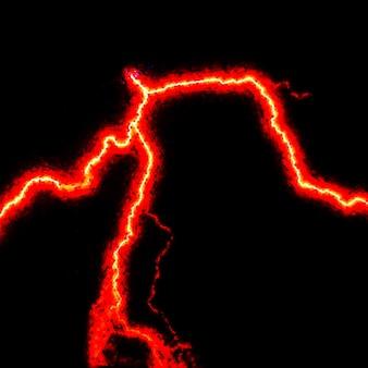 Абстрактный промышленный фон - тлеющий электрический разряд в инертном газе