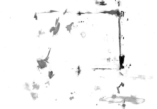 抽象的なインクスポット手描きイラスト。