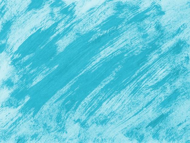 Abstract light blue brush stroke