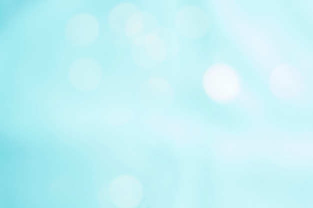 Abstract light blue color blurred