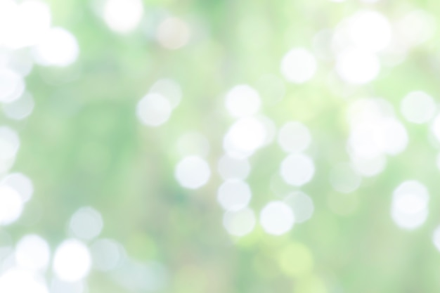 Abstract light and blurred bokeh background.