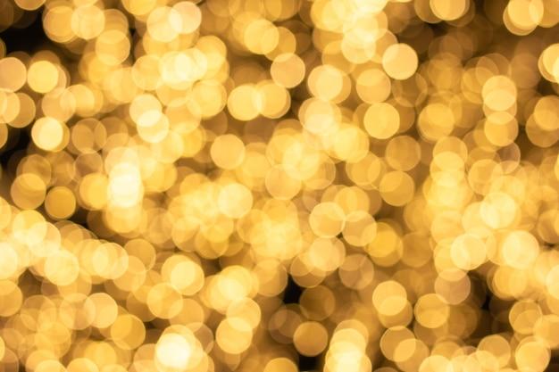 抽象的な光ボケ背景、クリスマスライト、ぼやけたライト