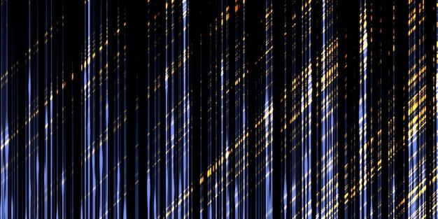 抽象的な光の線線形の輝き