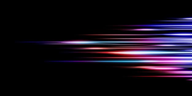 Abstract light lines technology dynamic technology pattern design 3d illustration