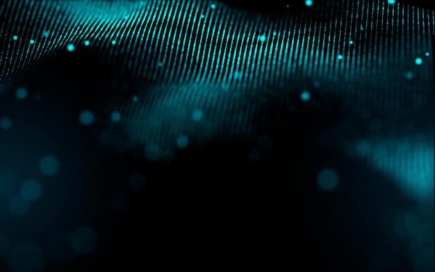 추상 빛 입자 배경
